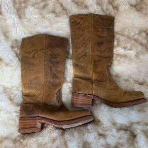 Frye Tall Leather Boots, sz. 8.5